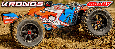 NEW! CORALLY KRONOS XP 6S MONSTER TRUCK 1/8