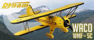 DYNAM WACO WMF-5C 1270MM W/O TX/RX/BATT