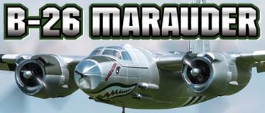 DYNAM MARTIN RTB-26 MARAUDER 1500MM WARBIRD