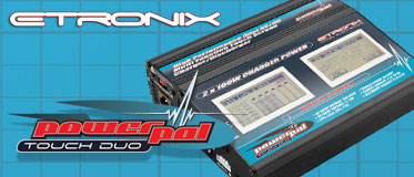 ETRONIX POWERPAL TOUCH DUAL AC/DC 100W PERFORMANCE CHARGER
