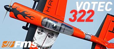 FMS 1400MM VOTEC V322 ARTF SPORT PLANE