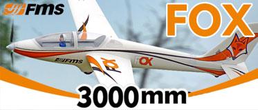 FMS 3000MM FOX GLIDER ARTF