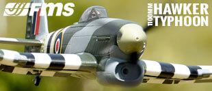 FMS 1100MM HAWKER TYPHOON ARTF WARBIRD