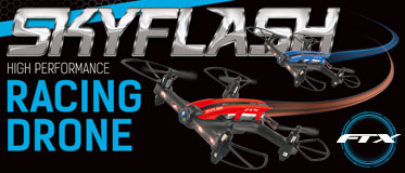FTX SKYFLASH RACING DRONE SET W/GOGGLES