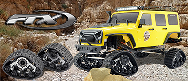 FTX FURY 1:10 CRAWLER FRONT SNOW/SAND TRACKS