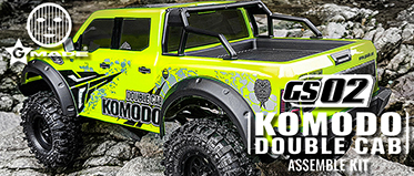 GMADE 1/10 GS02 KOMODO DOUBLE CAB KIT