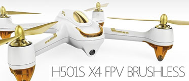 HUBSAN 501S X4 FPV DRONE WITH HD CAMERA