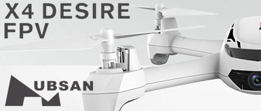 HUBSAN X4 DESIRE FPV QUADCOPTER