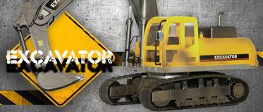 HOBBY ENGINE FULL-FUNCTION EXCAVATOR