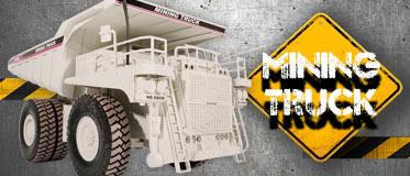 HOBBY ENGINE FULL-FUNCTION MINING TRUCK