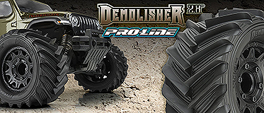 NEW! DEMOLISHER 1/10 F/R 2.8