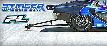PROLINE STINGER DRAG RACING WHEELIE BAR FOR SLASH 2WD