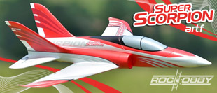 ROC HOBBY 830MM SUPER SCORPION EDF JET