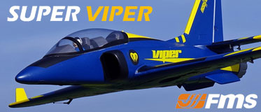 ROC HOBBY ARTF 1100MM SUPER VIPER JET