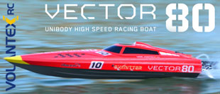VOLANTEX VECTOR 80 BRUSHLESS READY SET SPEED BOAT