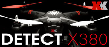XK INNOVATIONS X380 DETECT DRONE WITH  1080P CAMERA