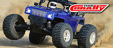IN-COMING! TEAM CORALLY 1/10th RTR TRUCKS.