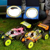 Team Associated Sweep Up at TMSC