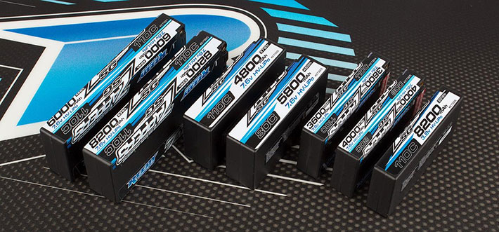 Reedy Zappers SG Li-Po Batteries