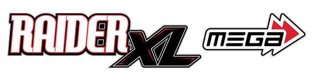 ARRMA RAIDER XL MEGA 2WD BRUSH DESERT 1/8 RTR RED/WHITE LOGO