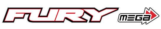 ARRMA FURY MEGA 1/10 2WD SHORT COURSE TRUCK RTR BLUE LOGO