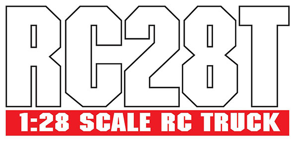 ASSOCIATED AE QUALIFIER SERIES RC28T 1:28 RACE TRUCK RTR LOGO