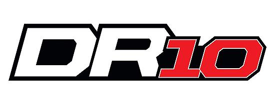 TEAM ASSOCIATED DR10 DRAG RACE CAR TEAM KIT LOGO
