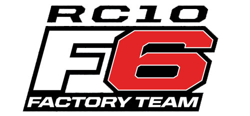 TEAM ASSOCIATED RC10F6 1/10 SCALE F1 FACTORY TEAM KIT LOGO