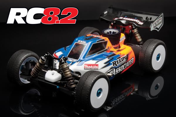 Team Associated RC8.2 Factory Team 1/8th Scale Racing Buggy