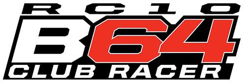 TEAM ASSOCIATED B64 CLUB RACER KIT w/REEDY ESC, SERVO, MOTOR LOGO
