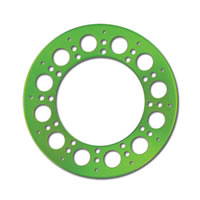 Holey Rollers Bead Lock Rings - Green