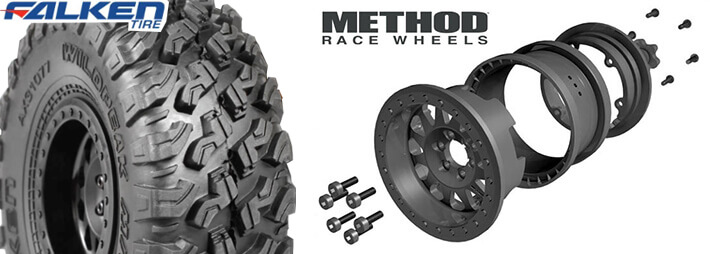 WildPeak All Terrain Tires and Method Race Wheels