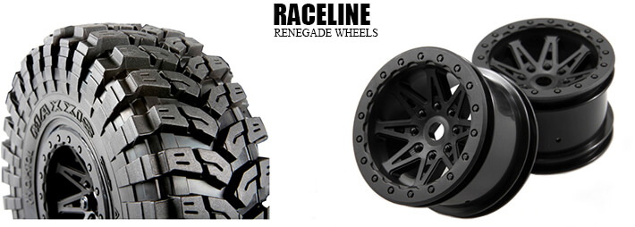 2.2 Maxxis Tyres and Raceline Renegade Wheels