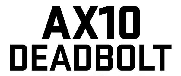 AXIAL AX10 DEADBOLT 1/10TH ELECTRIC 4WD - ARTR LOGO