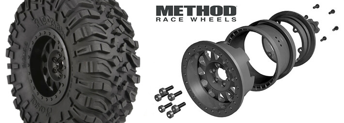 2.2 Ripsaw Tyres and Method Race Wheels