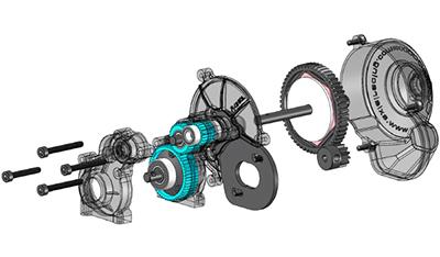 Axial SMT10 Gear Box