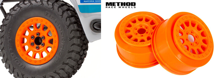 2.2 Maxxis Tyres and Method Race Wheels