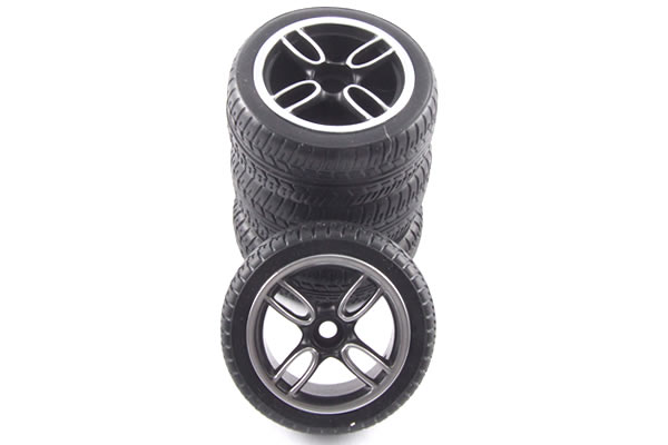 Carisma Mini Cooper JCW Pre-Glued Wheels & Tyres (4)