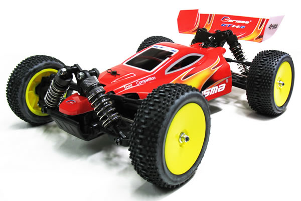 Carisma GT14B Brushless Powered RTR 4WD 1/16th Scale Buggy with 2.4ghz Radio System - Red