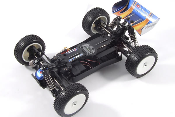 Carisma GT14B Brushless Powered RTR 4WD 1/16th Scale Buggy with 2.4ghz Radio System - Black