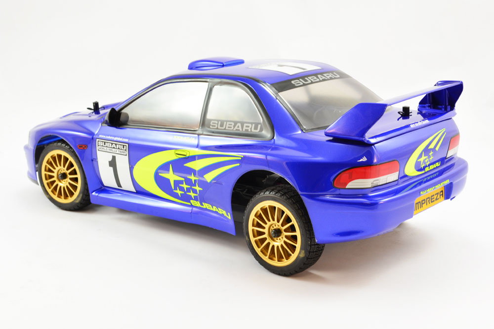 Carisma M40s Rc Electric 2 4ghz Subaru Impreza Wrc Rtr 4wd