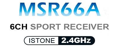 DYNAM DETRUM MSR66A 6CH 2.4G MINI RECEIVER w/LSTONE STABILZER LOGO