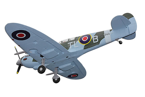 Dynam Spitfire Mk IX 1270mm Electric Warbird w/o TX/RX/Battery