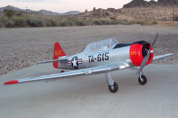 Dynam AT-6 Texan ARTF 1370mm w/o TX/RX/Battery