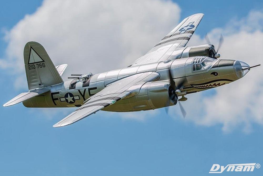 Dynam  Martin B26 Marauder Fuselage Parts