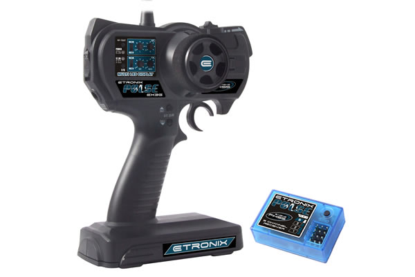 Etronix Pulse EX3G 3-channel 2.4ghz FHSS Proportional Radio System