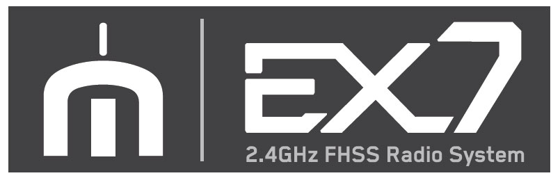 VOLANTEX EXMITTER 7-CHANNEL RADIO w/LCD SCREEN