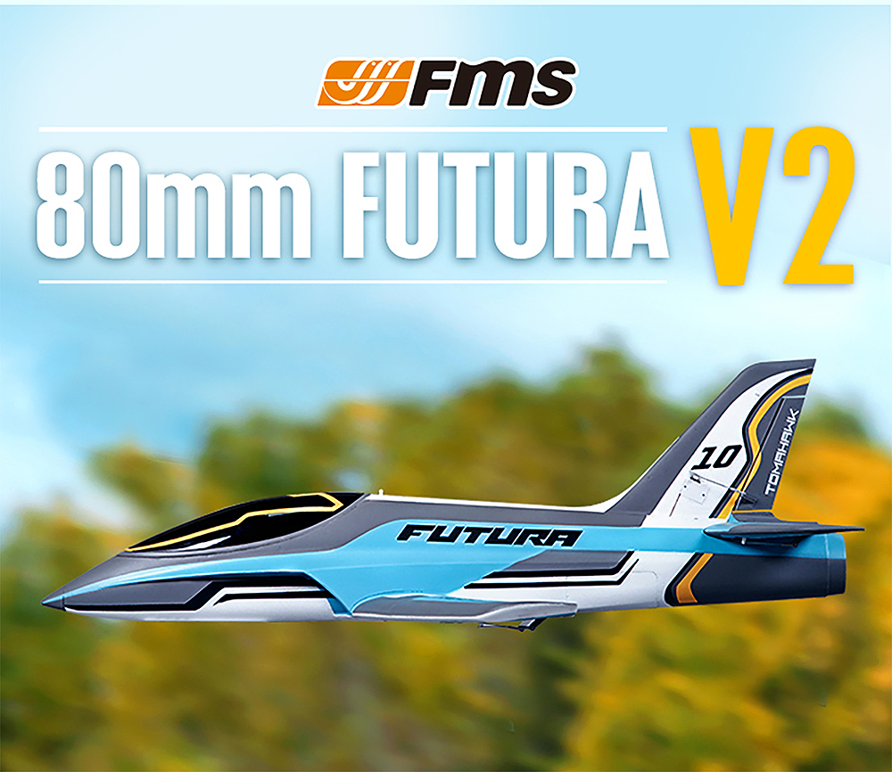 FMS Decal Sheet Futura 1060mm