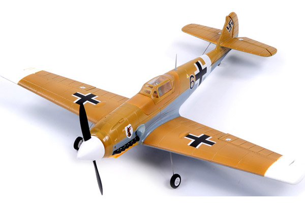 FMS Mini BF-109 Messerschmitt 800 Series RTF Electric Warbird w/o TX/RX