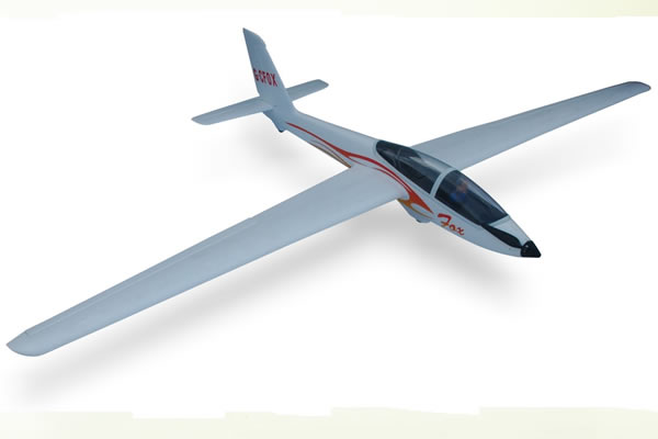 FMS Fox Glider RTF with 2.4Ghz Radio System